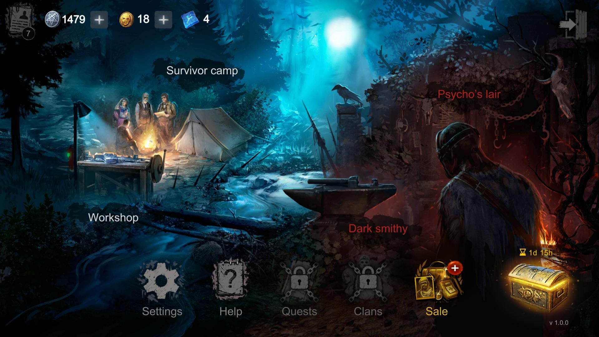 Horrorfield Multiplayer Survival Horror Game 1.3.6 Screenshot 7
