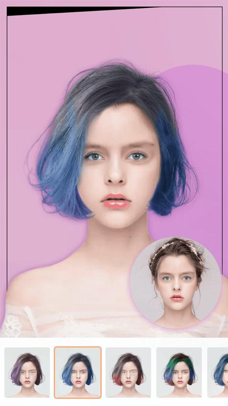 Hairstyle Try On - Hair Styles and Haircuts 6.7 Screenshot 2