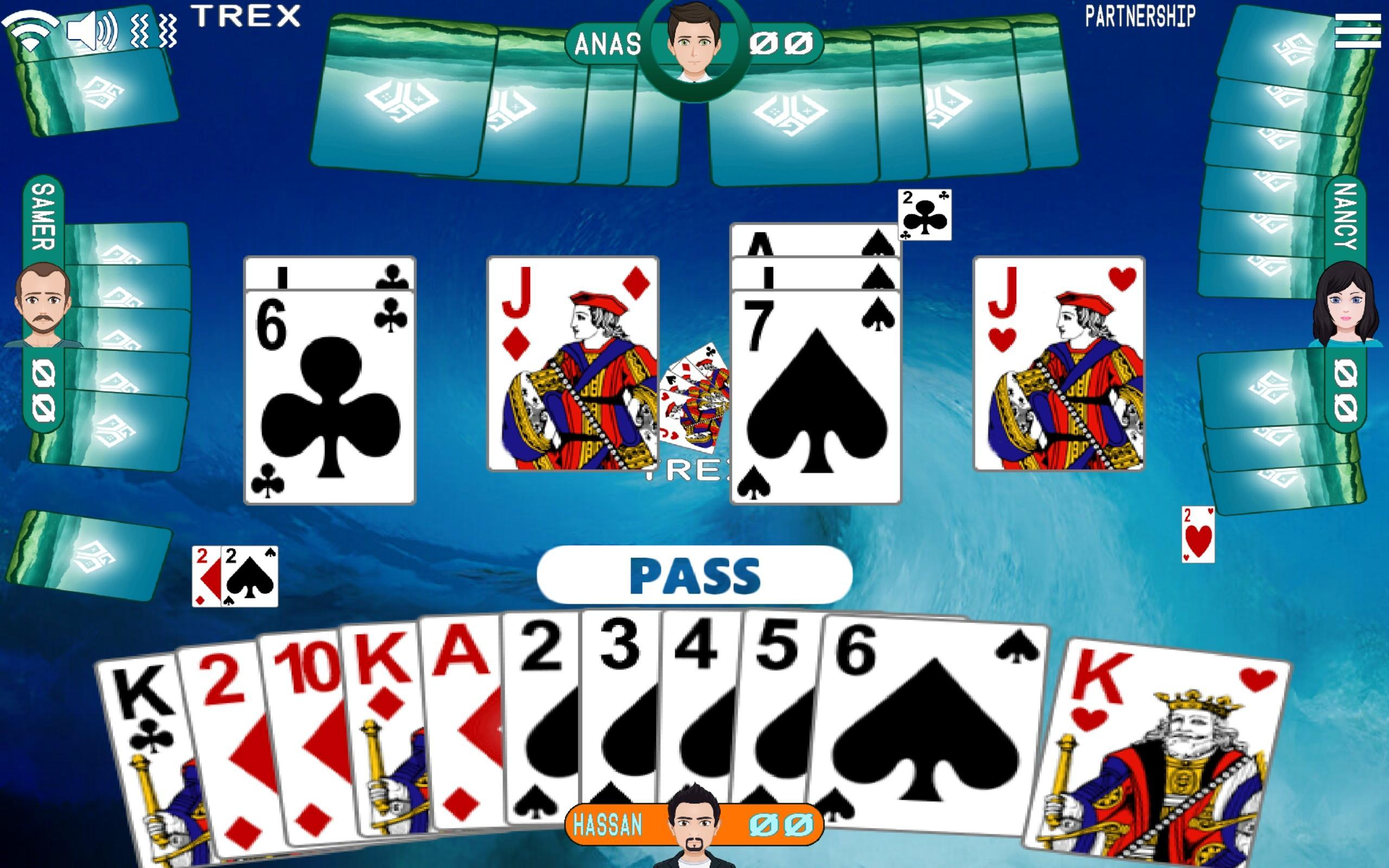 Golden Card Games (Tarneeb - Trix - Solitaire) 20.1.1.30 Screenshot 2
