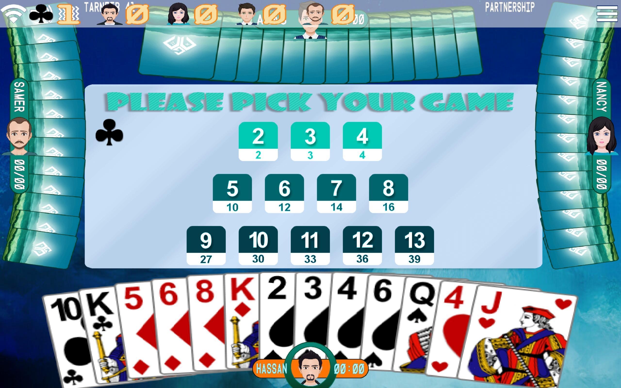 Golden Card Games (Tarneeb - Trix - Solitaire) 20.1.1.30 Screenshot 4