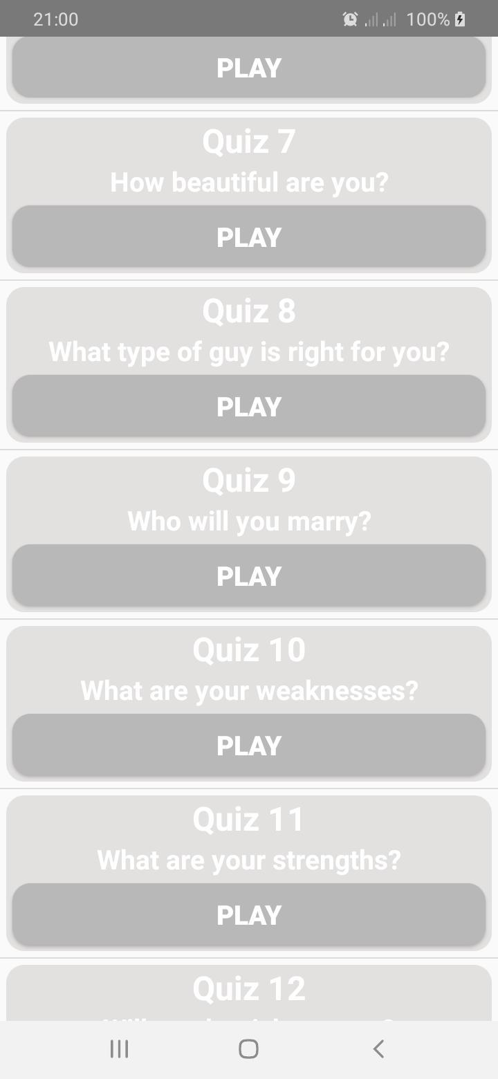 Does He Like Me? Personality Test 8.0 Screenshot 5