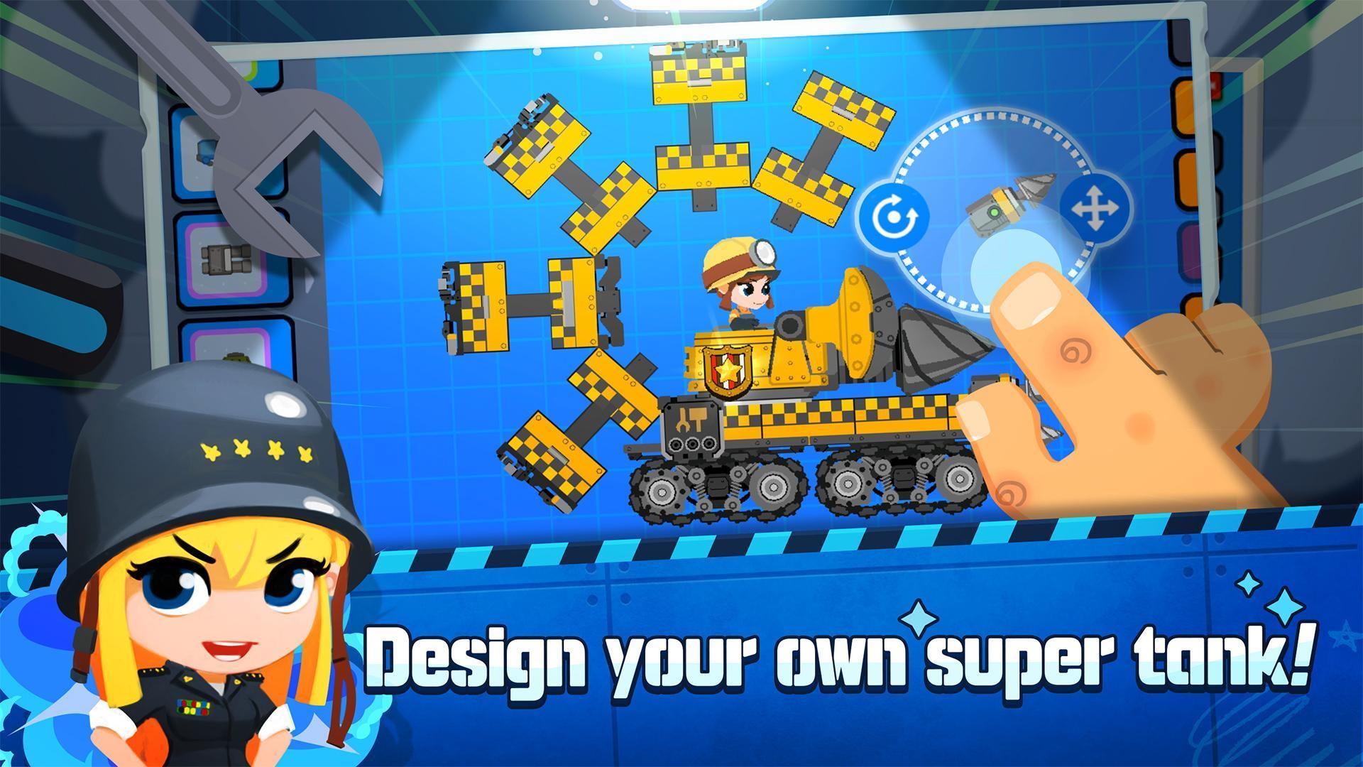 Super Tank Blitz 1.0.6 Screenshot 1