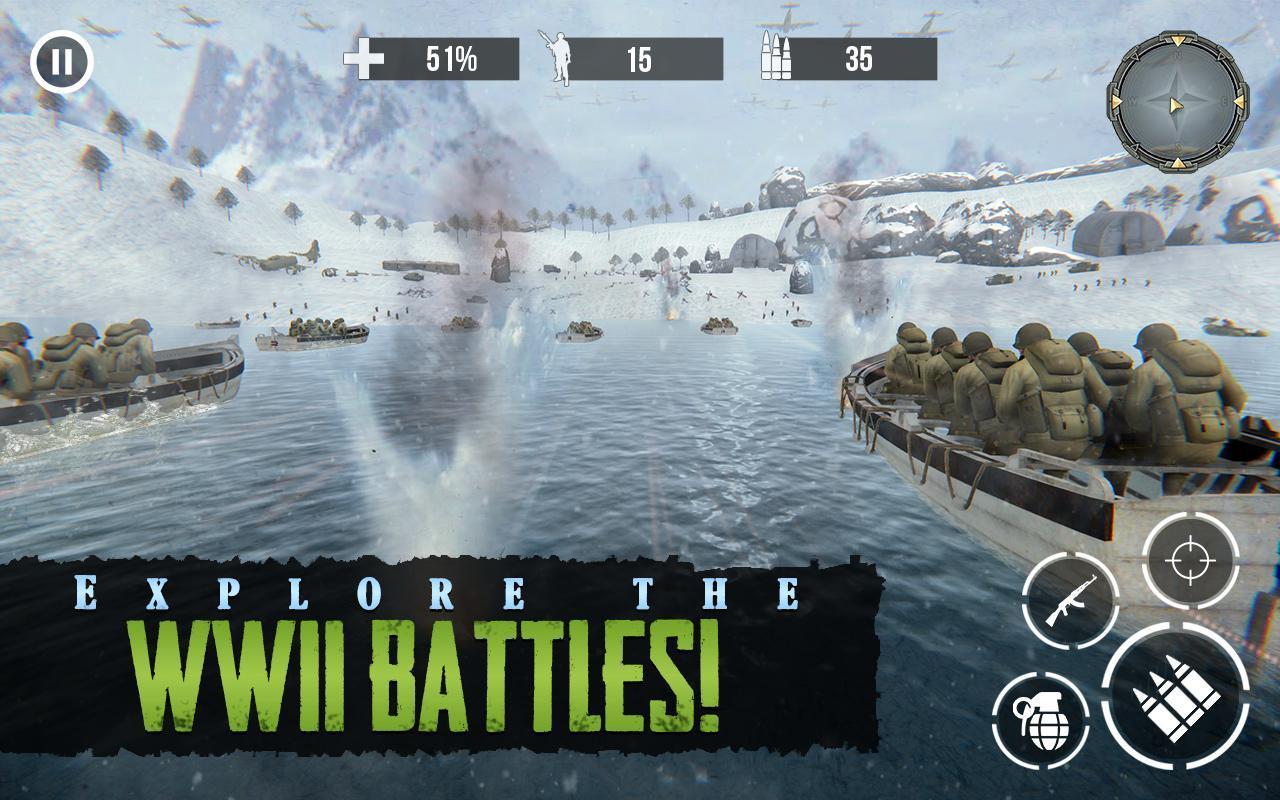 Call of Sniper WW2: Final Battleground War Games 3.3.5 Screenshot 1