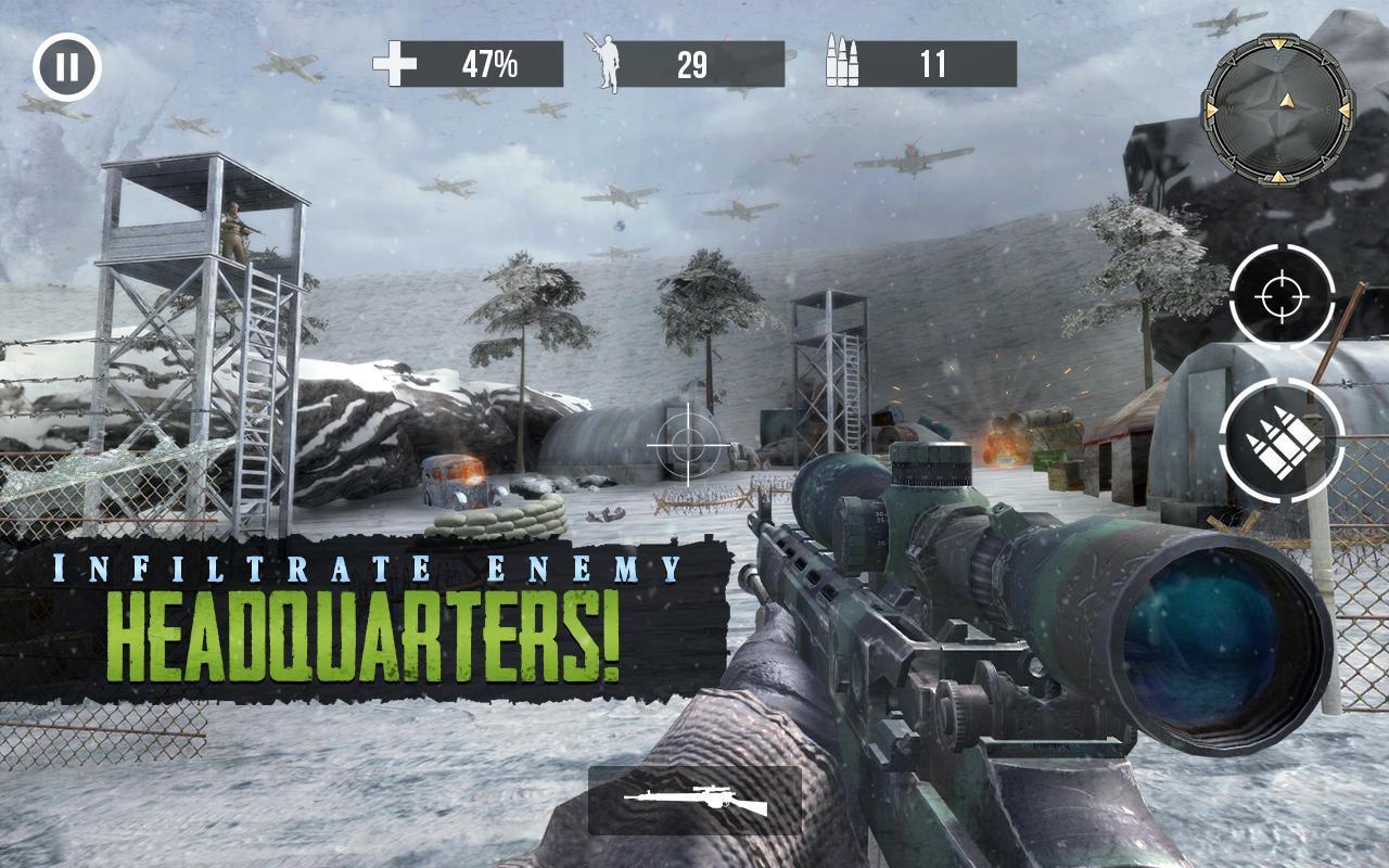 Call of Sniper WW2: Final Battleground War Games 3.3.5 Screenshot 2