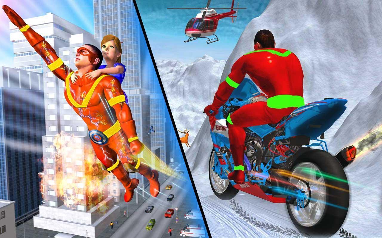 Light Speed Robot Doctor Hero - Rescue & Survival 2.3 Screenshot 1