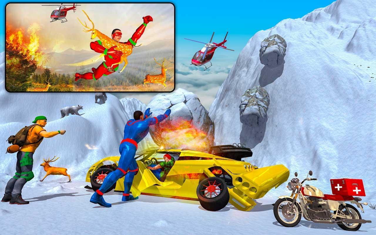 Light Speed Robot Doctor Hero - Rescue & Survival 2.3 Screenshot 12