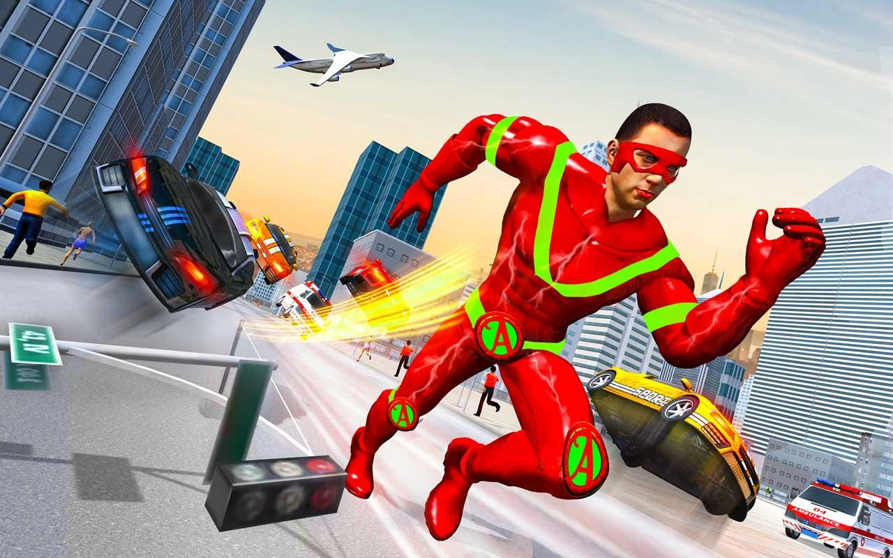 Light Speed Robot Doctor Hero - Rescue & Survival 2.3 Screenshot 2