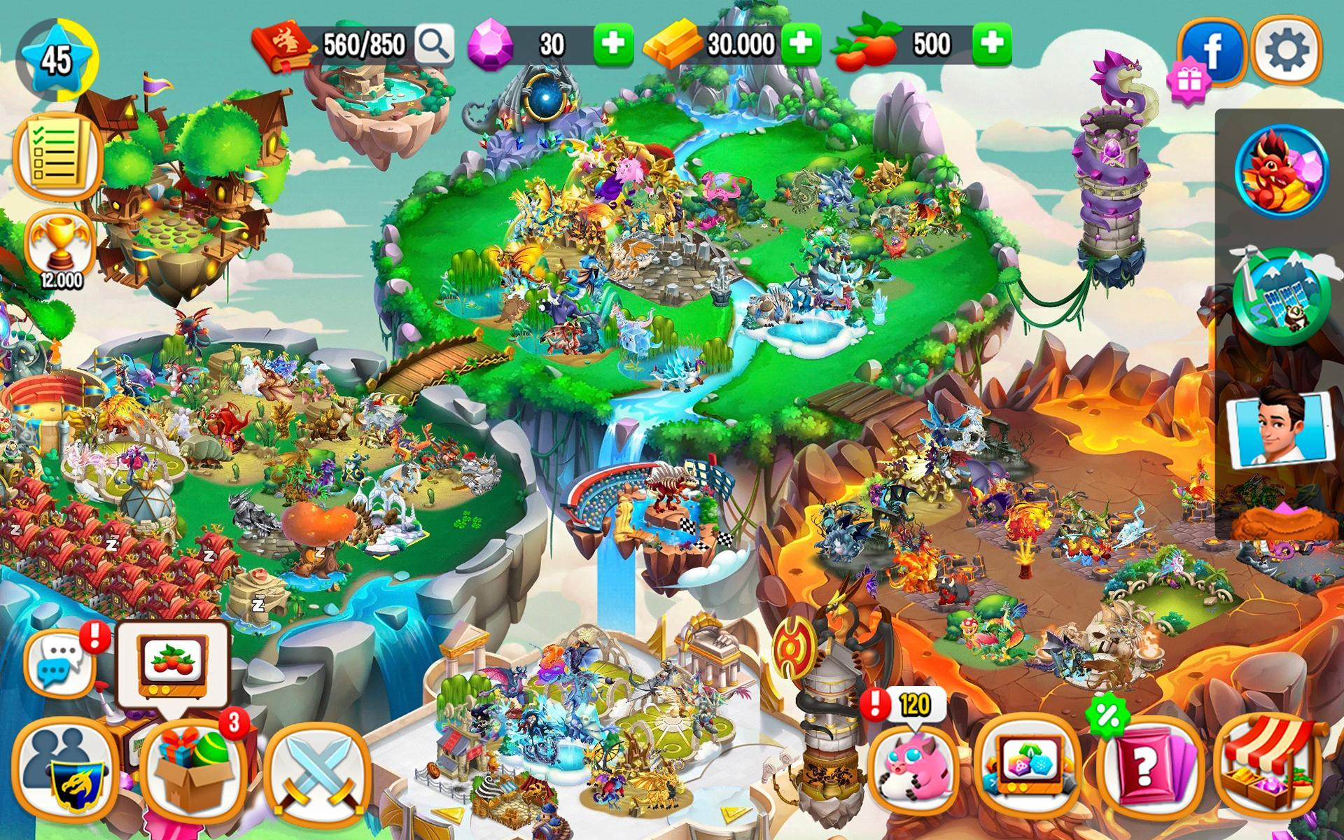 Dragon City 9.5.1 Screenshot 21