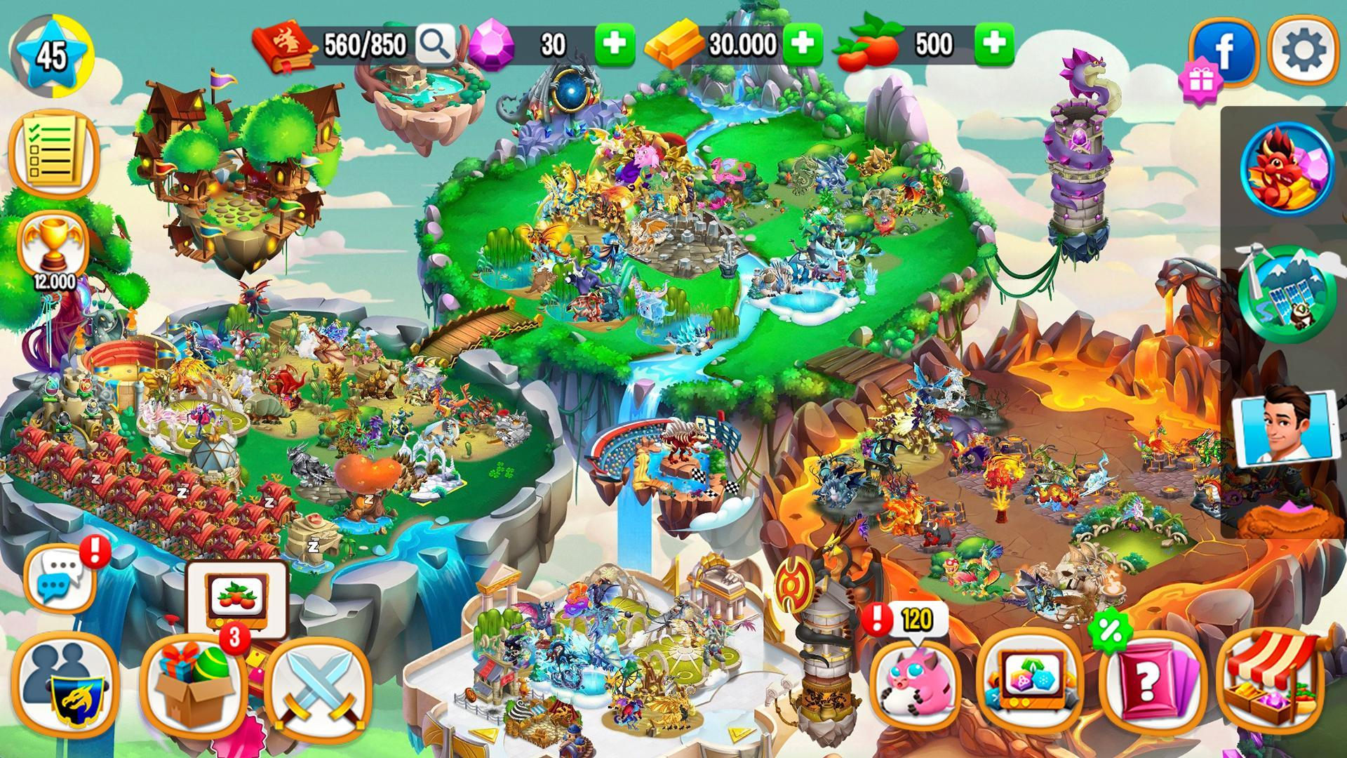 Dragon City 9.5.1 Screenshot 7