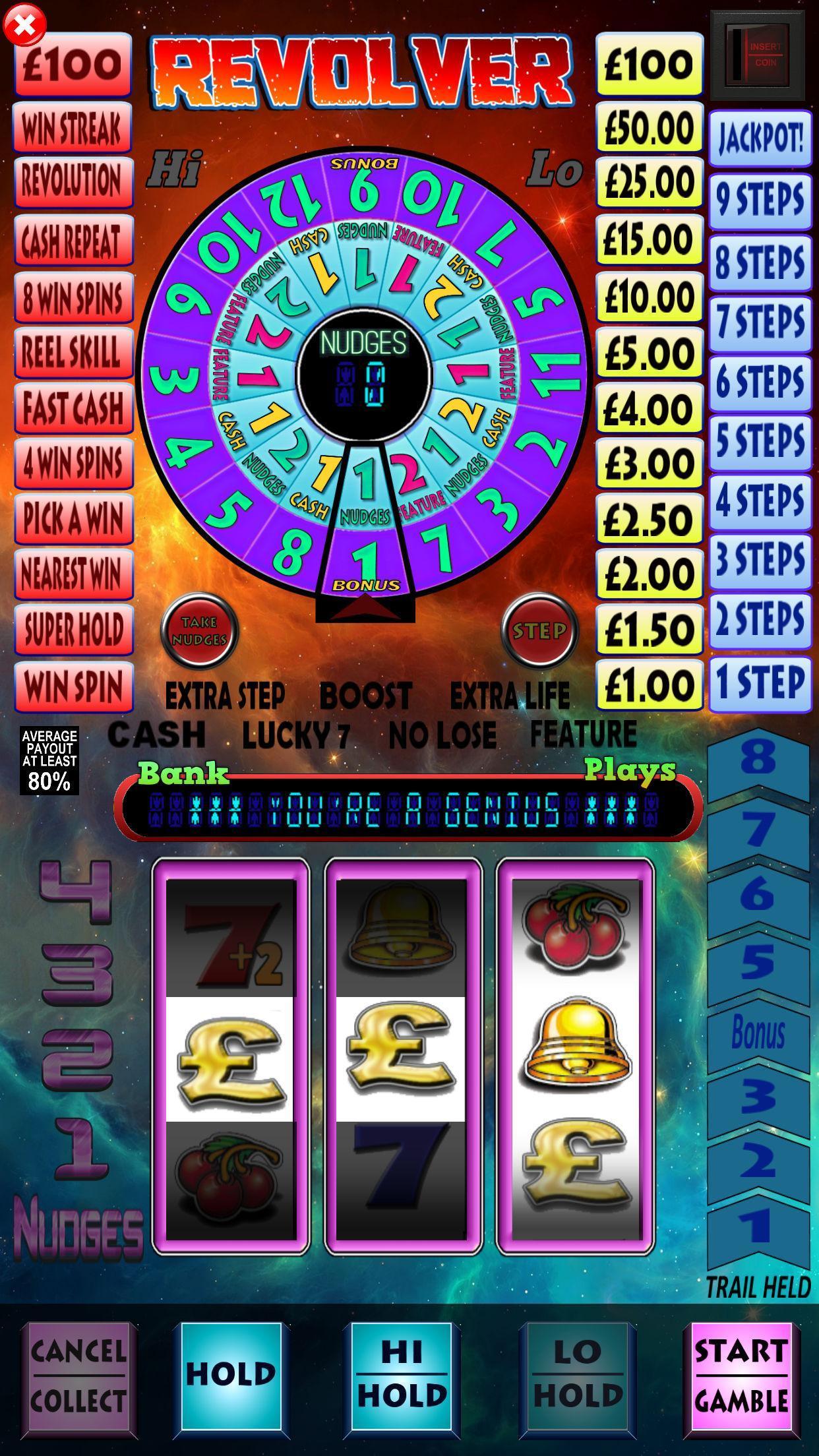 Revolver Pub Fruit Machine 1.4 Screenshot 1