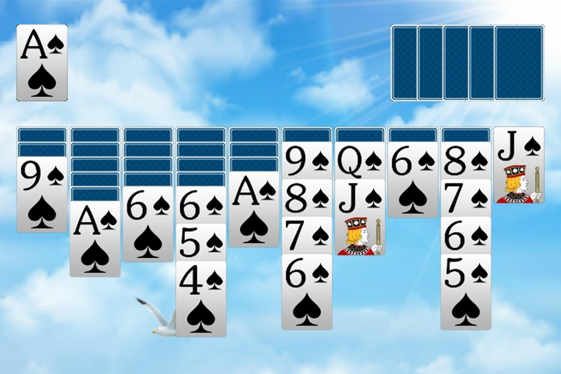 Spider Solitaire 4.4 Screenshot 9
