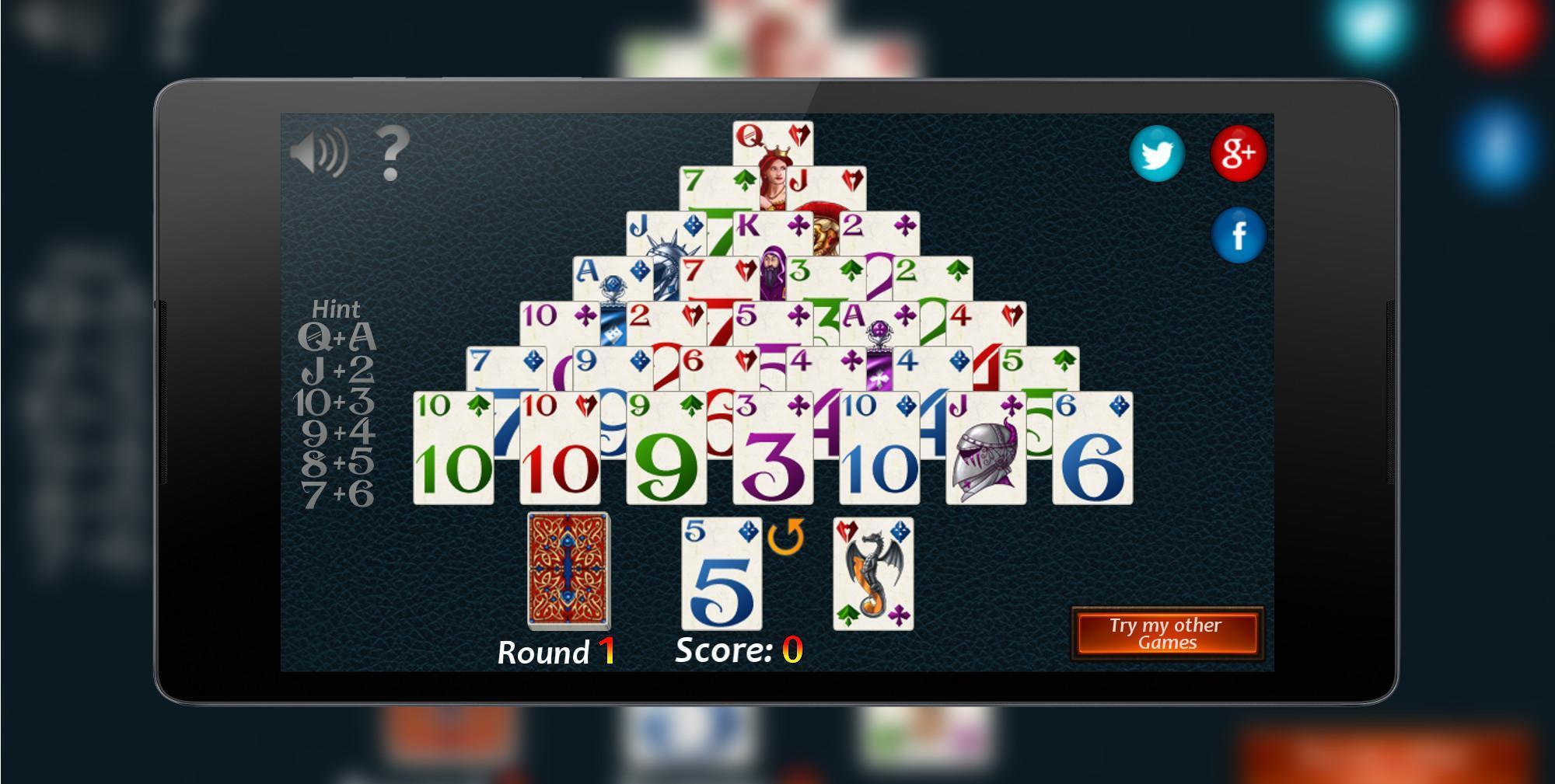 Pyramid Solitaire Fantasy 2.0.0 Screenshot 1