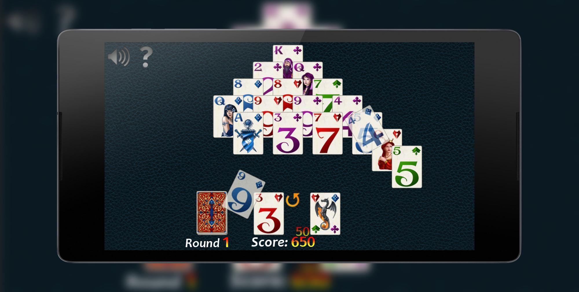 Pyramid Solitaire Fantasy 2.0.0 Screenshot 3