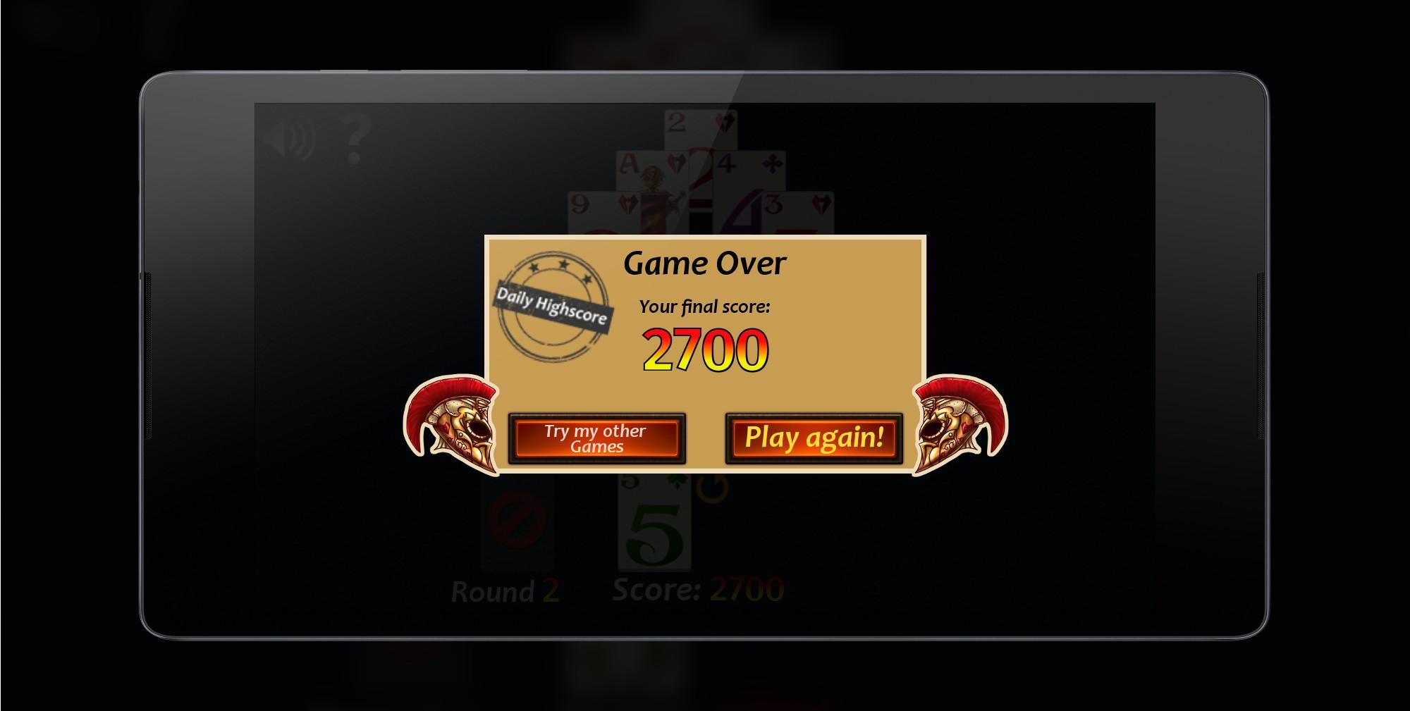Pyramid Solitaire Fantasy 2.0.0 Screenshot 4