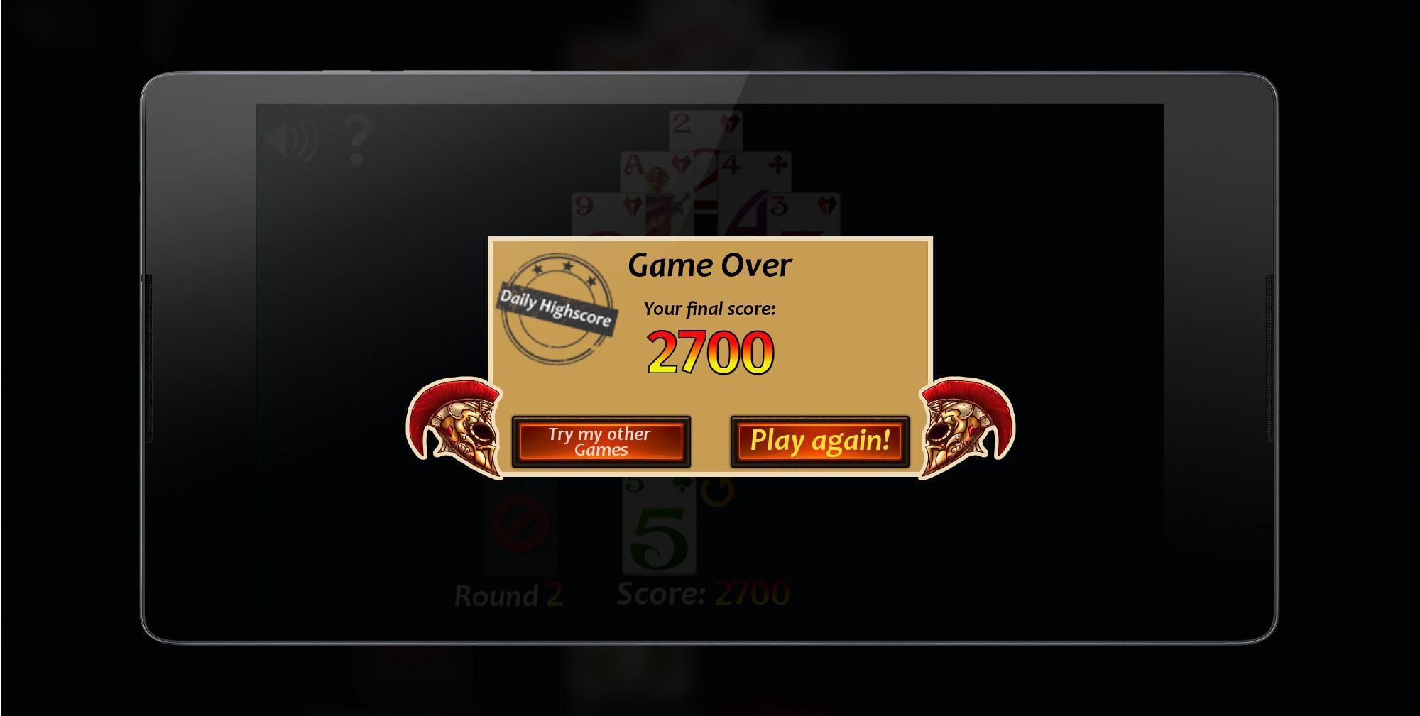 Pyramid Solitaire Fantasy 2.0.0 Screenshot 9