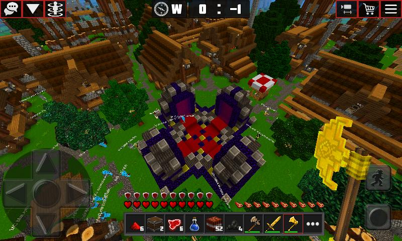 Multicraft with skins export to Minecraft 2.13 Screenshot 3