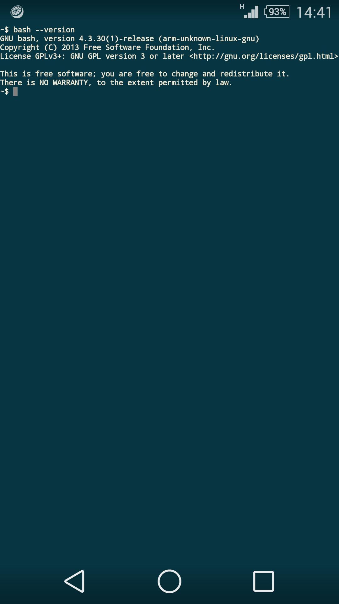 JuiceSSH SSH Client 2.1.4 Screenshot 3