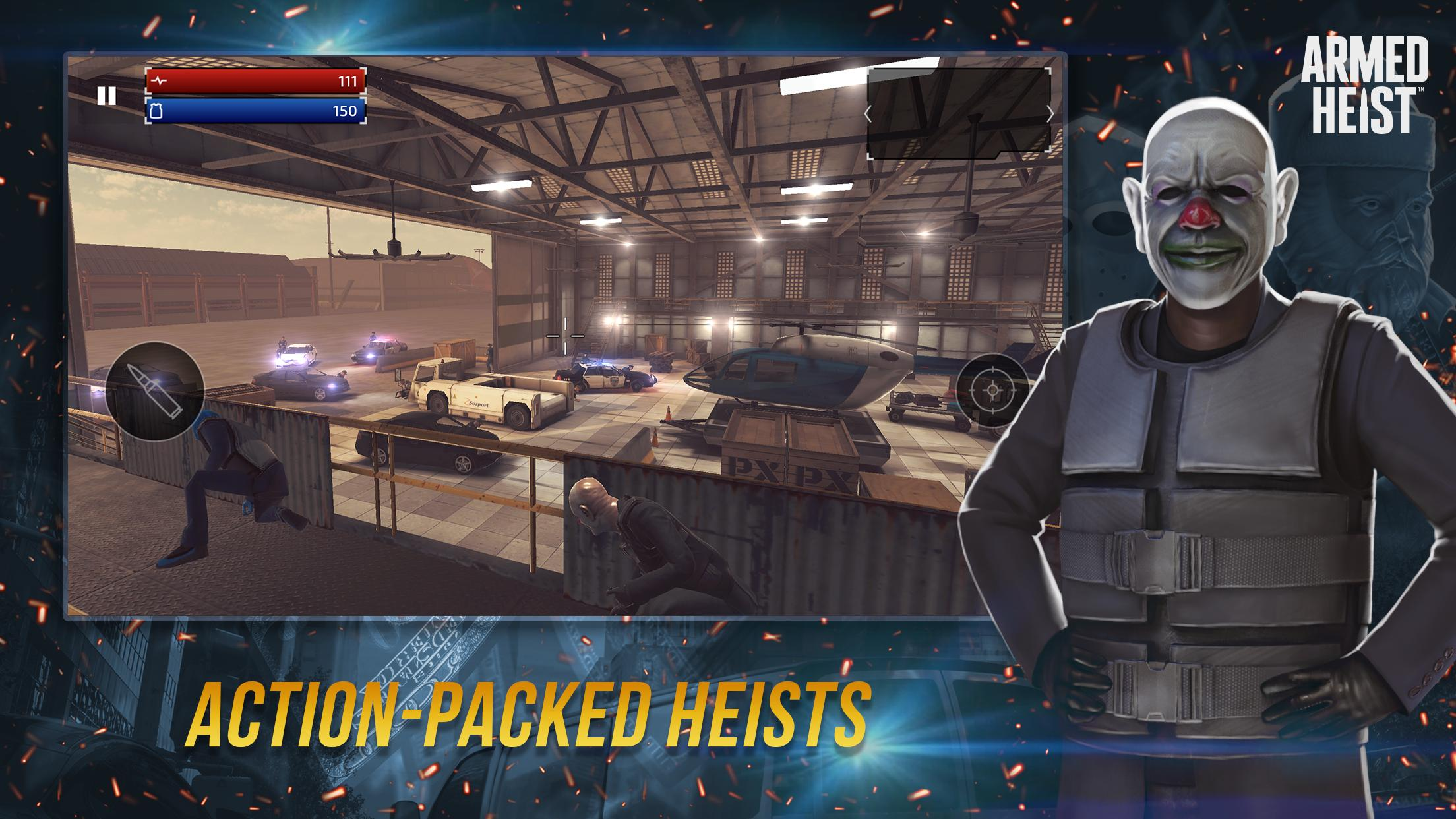 Armed Heist TPS 3D Sniper shooting gun games 2.1.1 Screenshot 1
