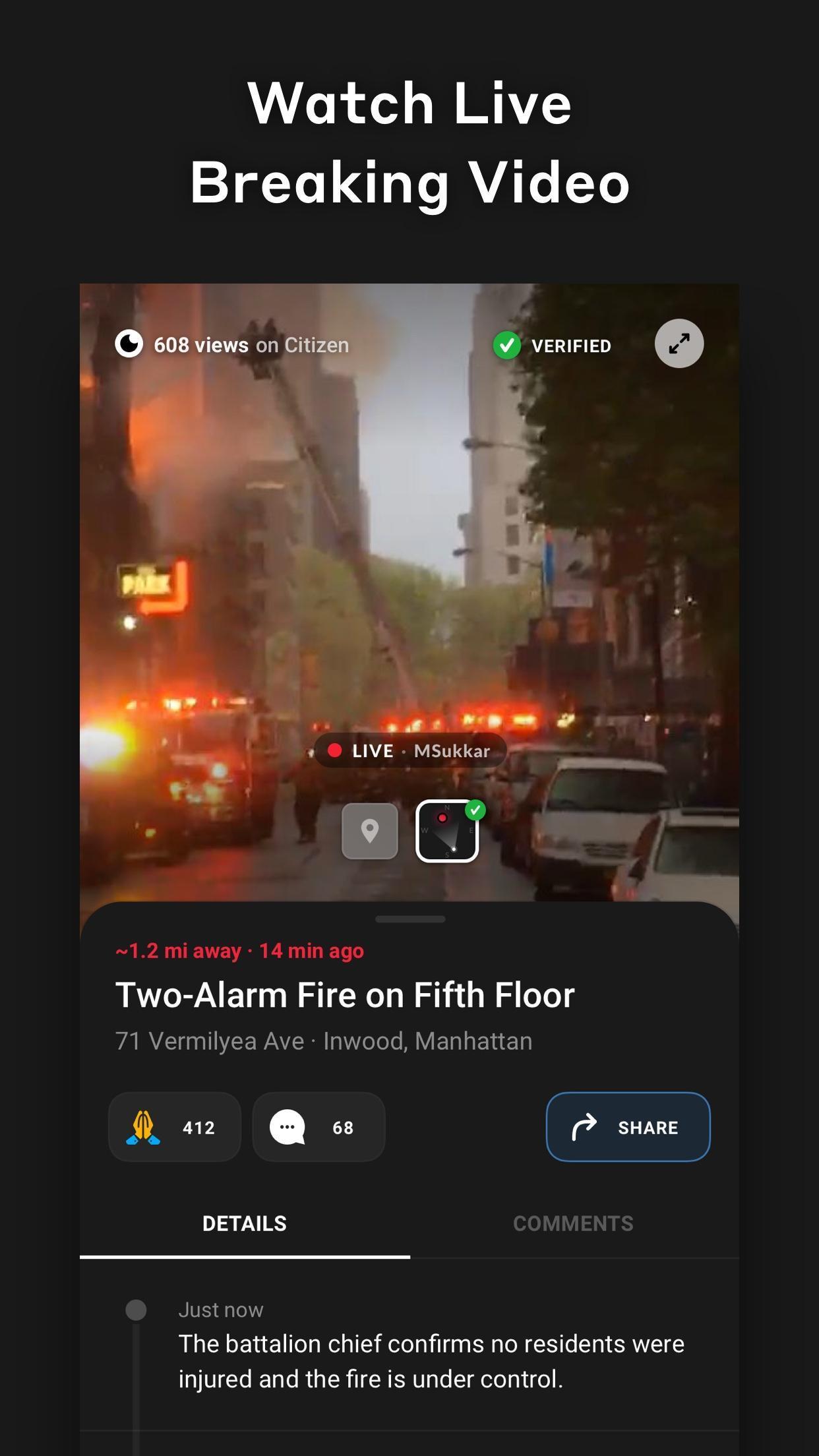Citizen 0.971.0 Screenshot 2