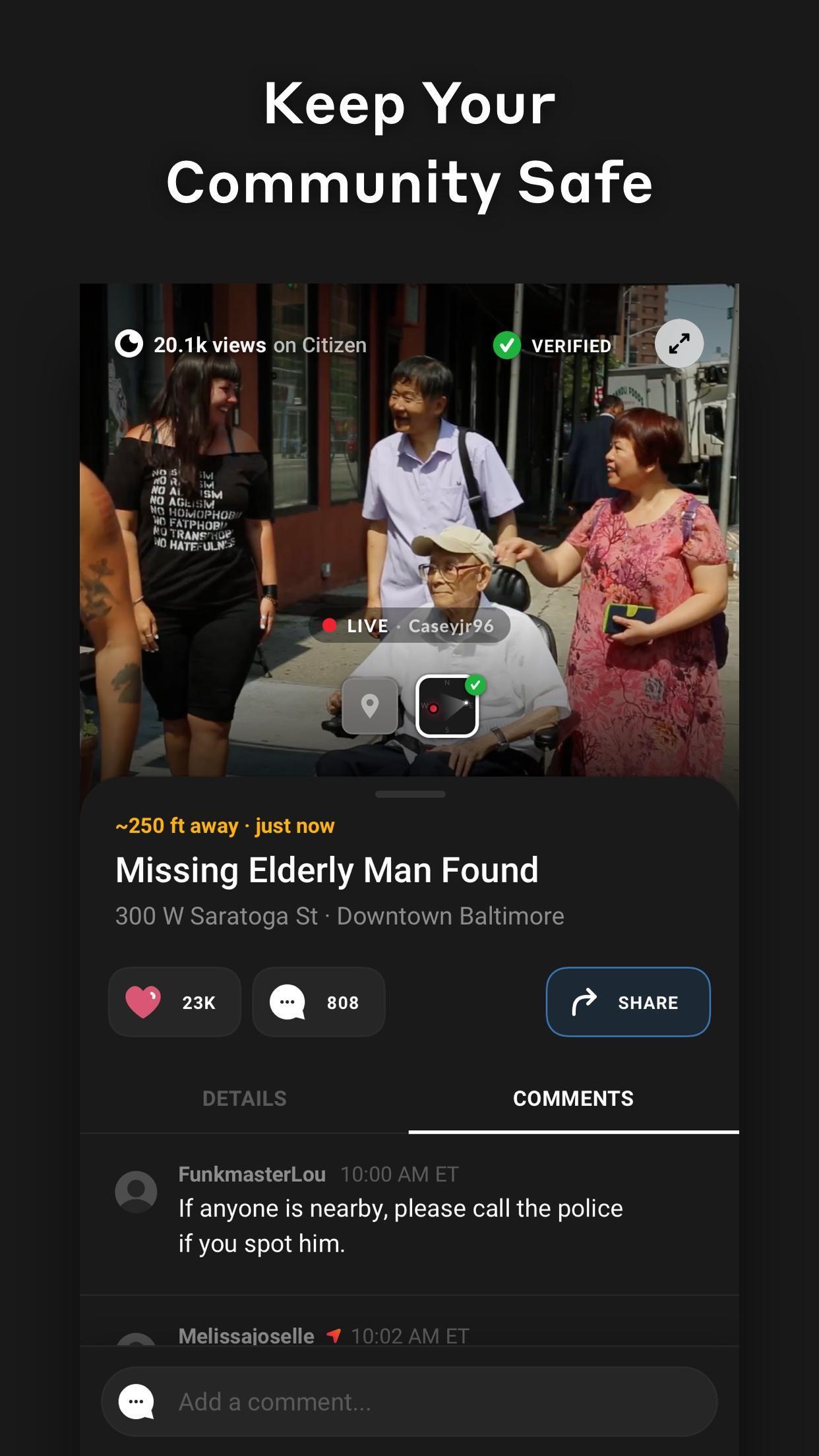 Citizen 0.971.0 Screenshot 3