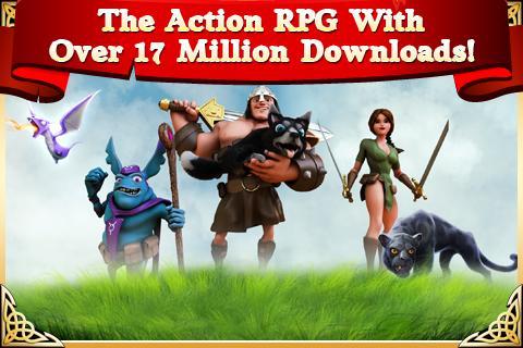 Arcane Legends MMO-Action RPG 2.6.2 Screenshot 1