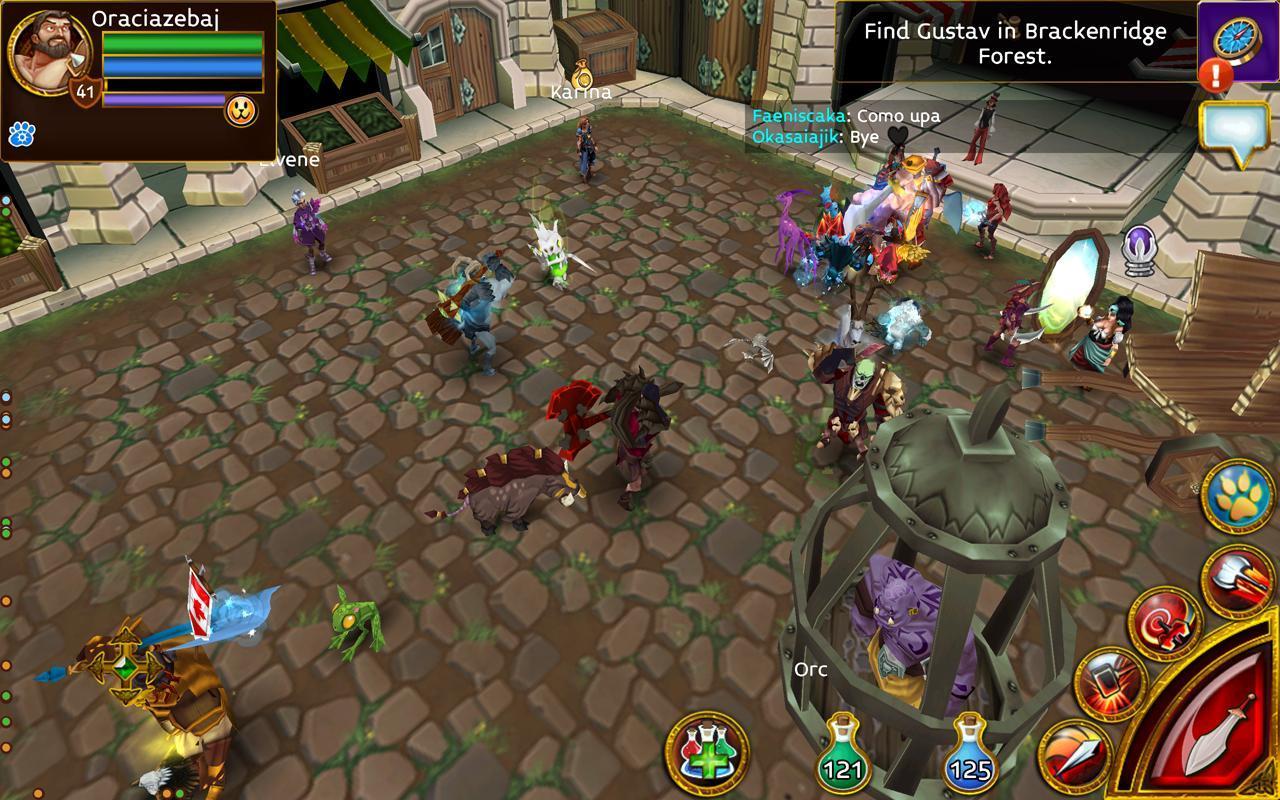 Arcane Legends MMO-Action RPG 2.6.2 Screenshot 15