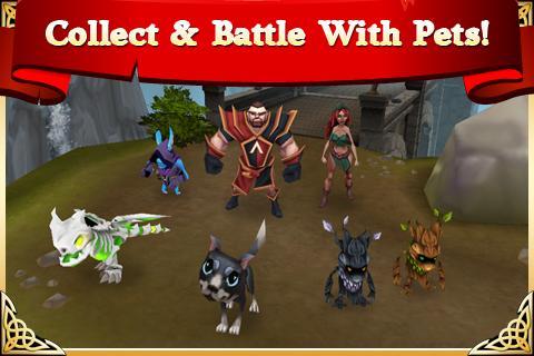 Arcane Legends MMO-Action RPG 2.6.2 Screenshot 5