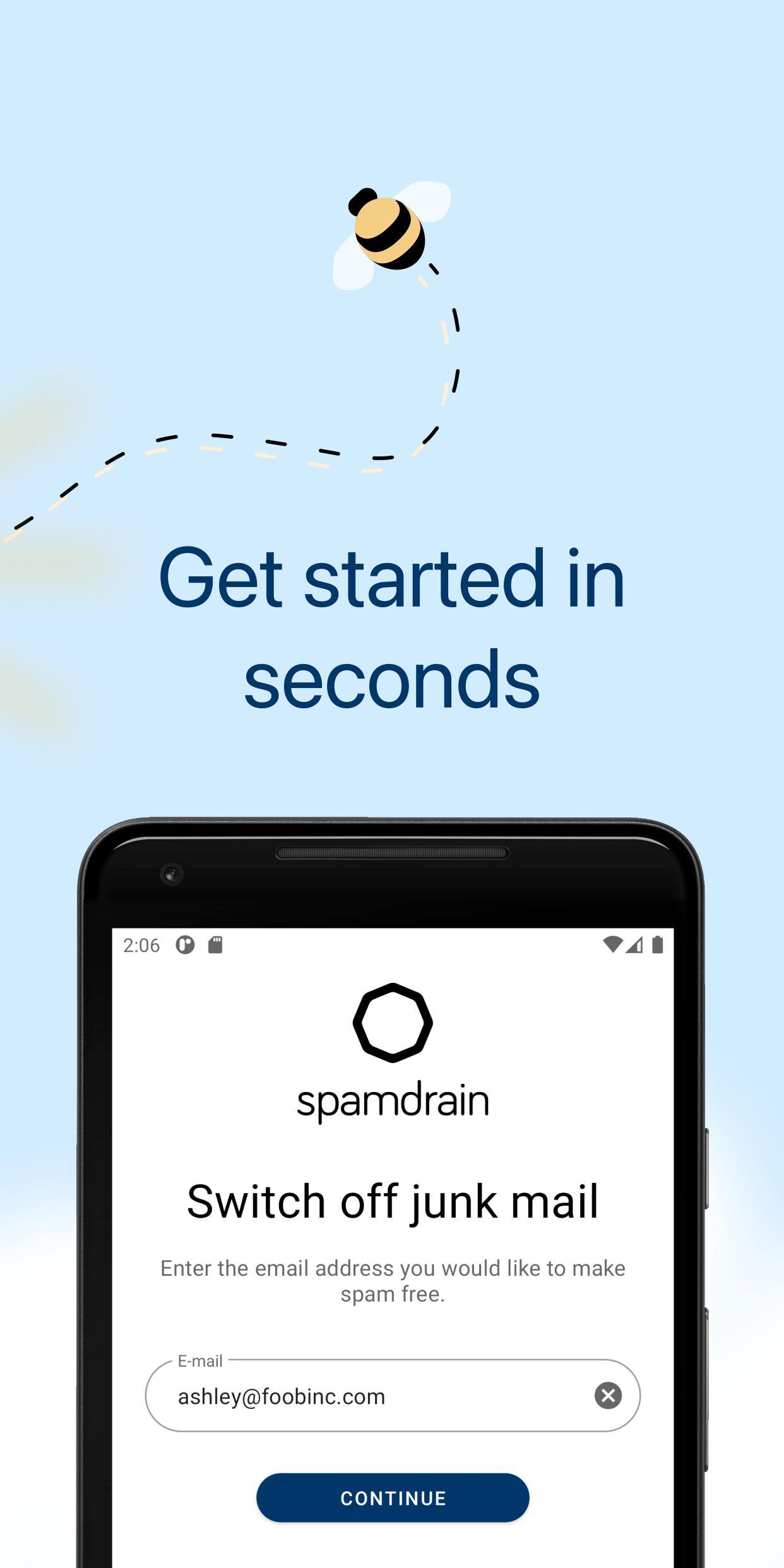 Spamdrain email spam filter 4.0.8 Screenshot 2