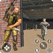 Immortal Squad 3D Free Game: New Offline Gun Games app icon