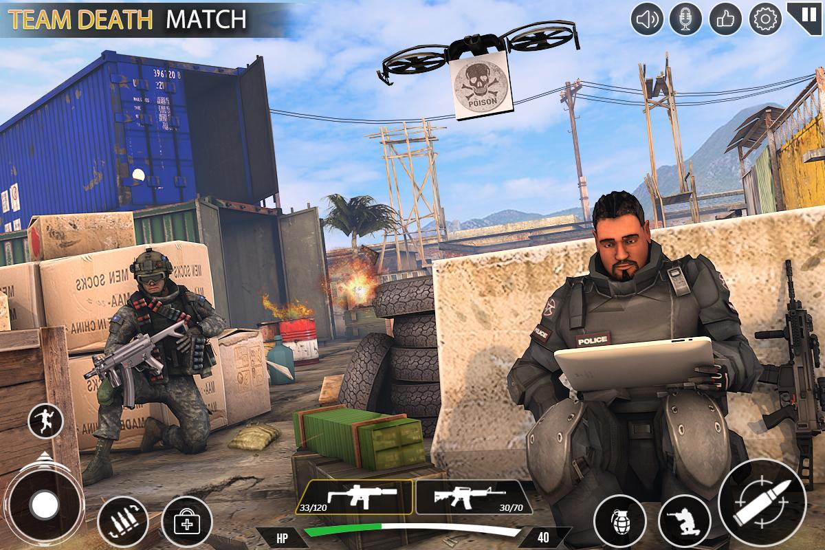 Immortal Squad 3D Free Game: New Offline Gun Games 20.4.1.4 Screenshot 10