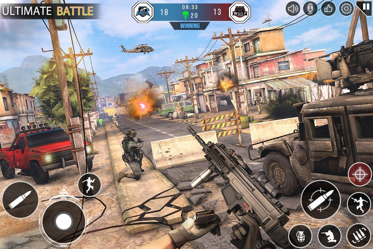 Immortal Squad 3D Free Game: New Offline Gun Games 20.4.1.4 Screenshot 7