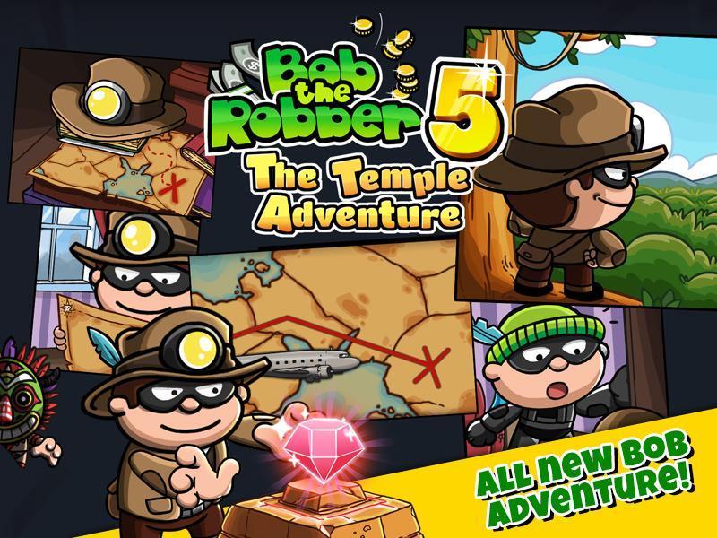 Bob The Robber 5 Temple Adventure by Kizi games 1.2.6 Screenshot 2
