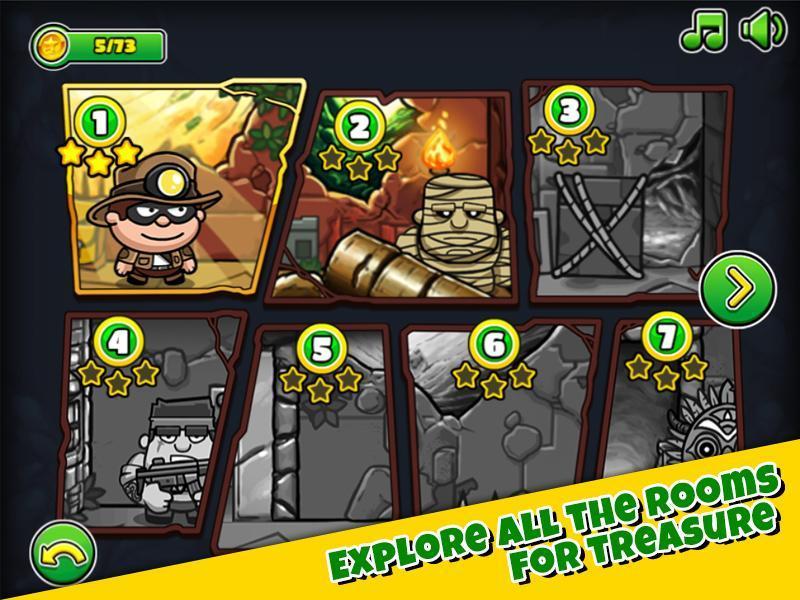 Bob The Robber 5 Temple Adventure by Kizi games 1.2.6 Screenshot 3