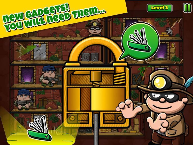 Bob The Robber 5 Temple Adventure by Kizi games 1.2.6 Screenshot 4