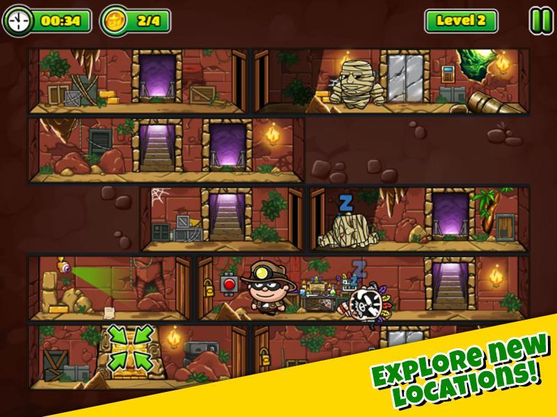 Bob The Robber 5 Temple Adventure by Kizi games 1.2.6 Screenshot 5