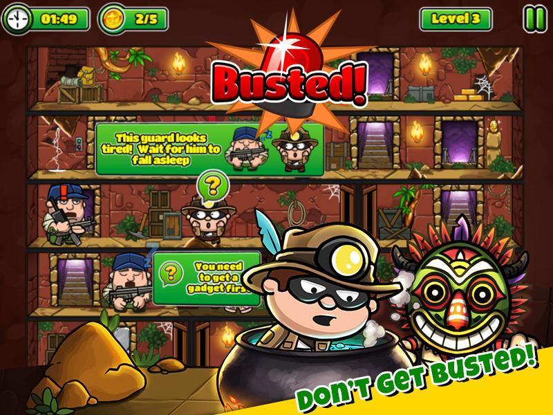 Bob The Robber 5 Temple Adventure by Kizi games 1.2.6 Screenshot 6