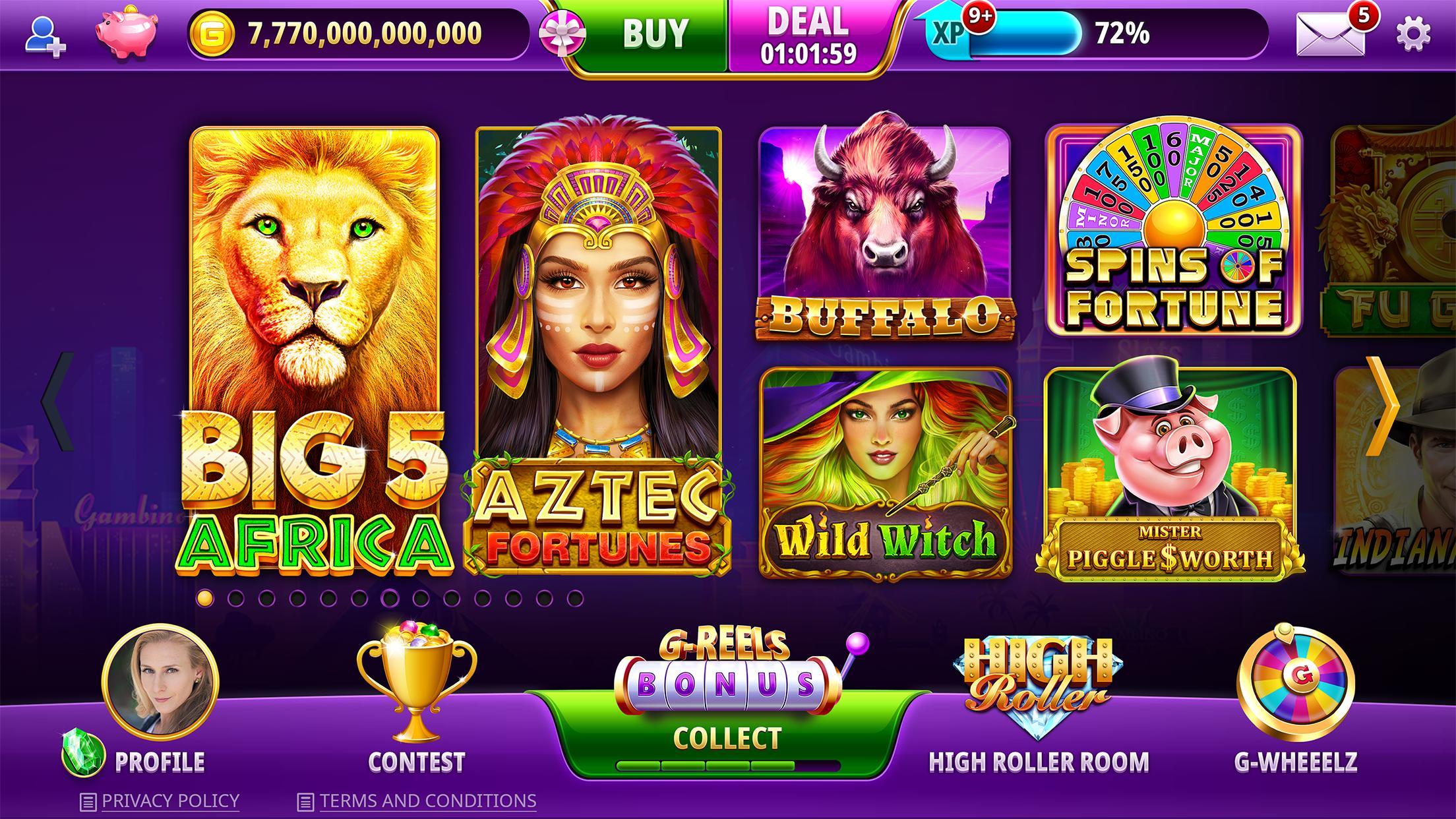 Gambino Slots: Free Online Casino Slot Machines 3.50 Screenshot 16