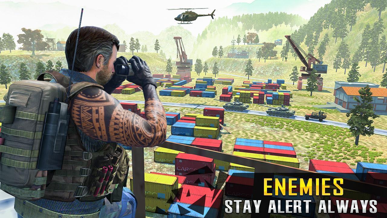 Commando Adventure Assassin Free Games Offline 1.42 Screenshot 1