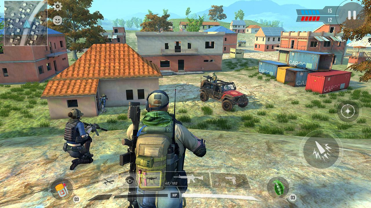 Commando Adventure Assassin Free Games Offline 1.42 Screenshot 2