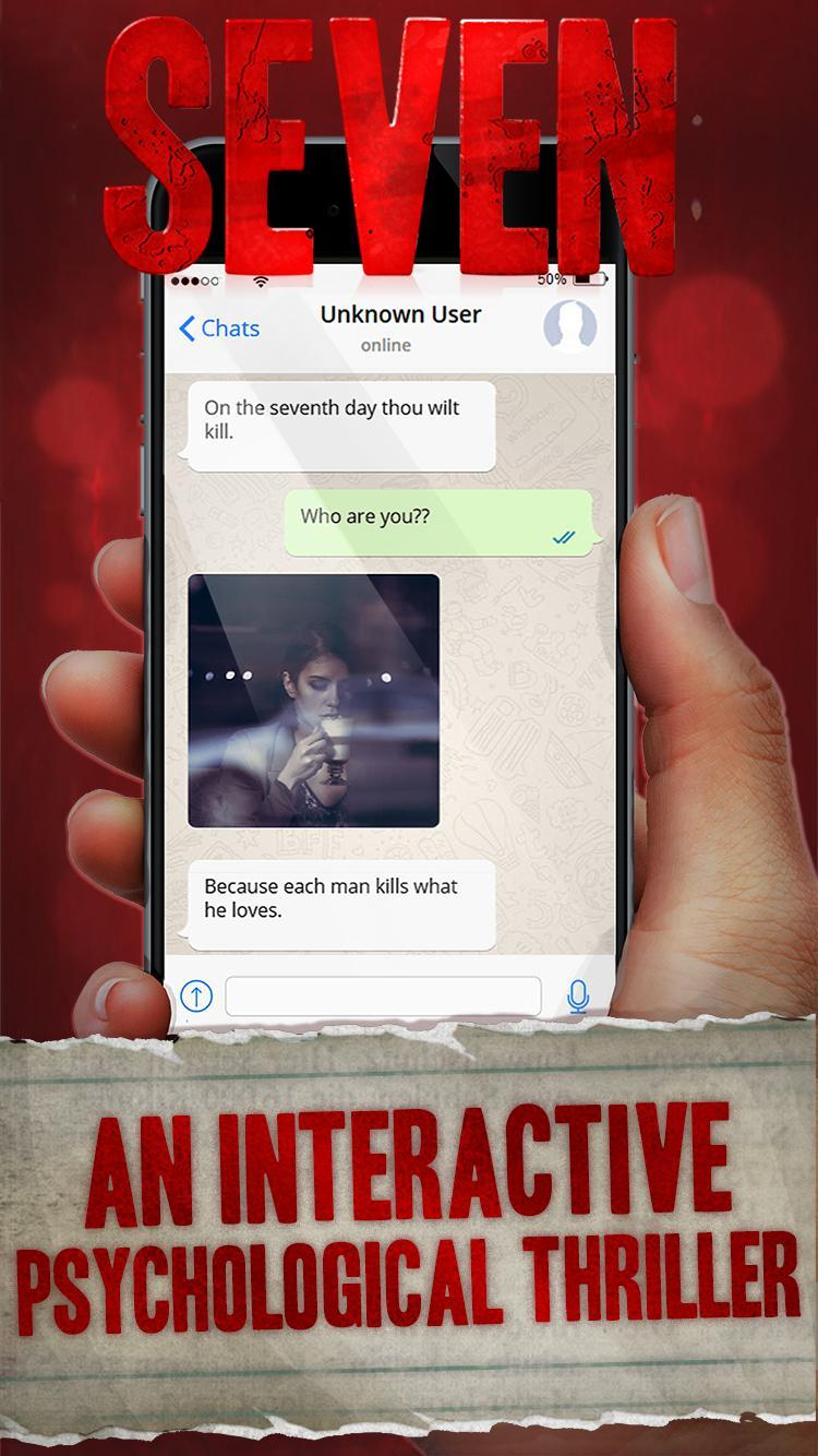 Seven Deadly Revelation - Horror Chat Adventure 1.5.62 Screenshot 1