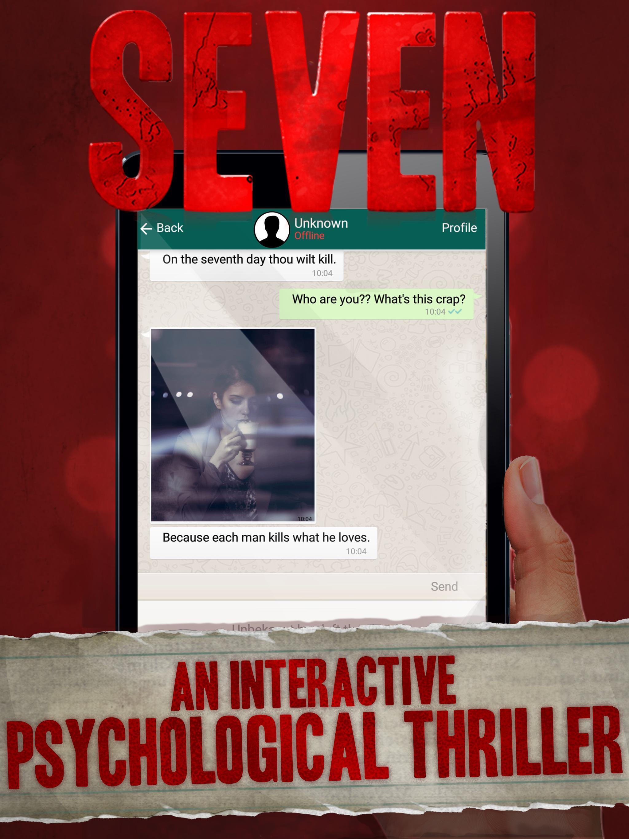 Seven Deadly Revelation - Horror Chat Adventure 1.5.62 Screenshot 6