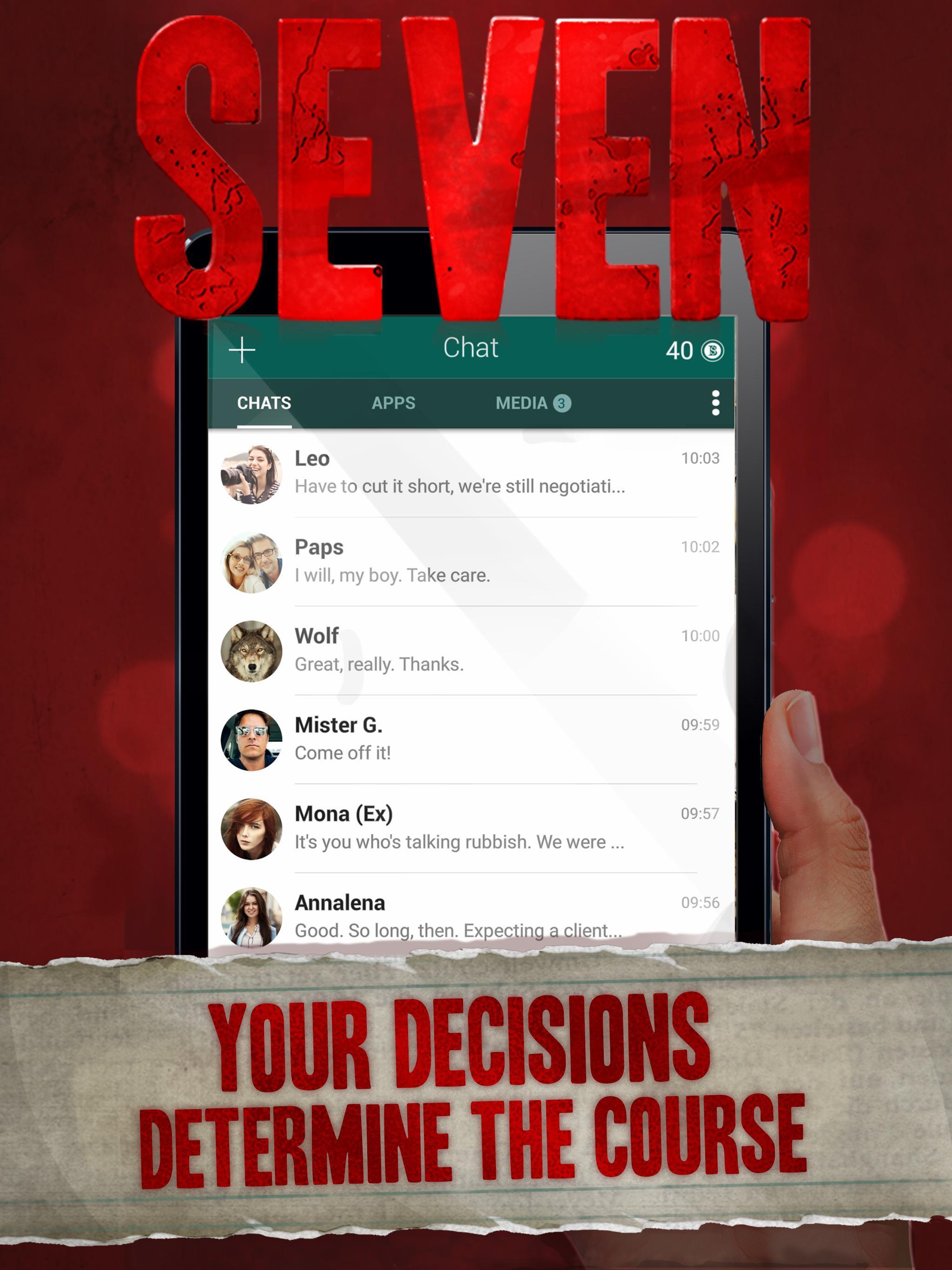 Seven Deadly Revelation - Horror Chat Adventure 1.5.62 Screenshot 7