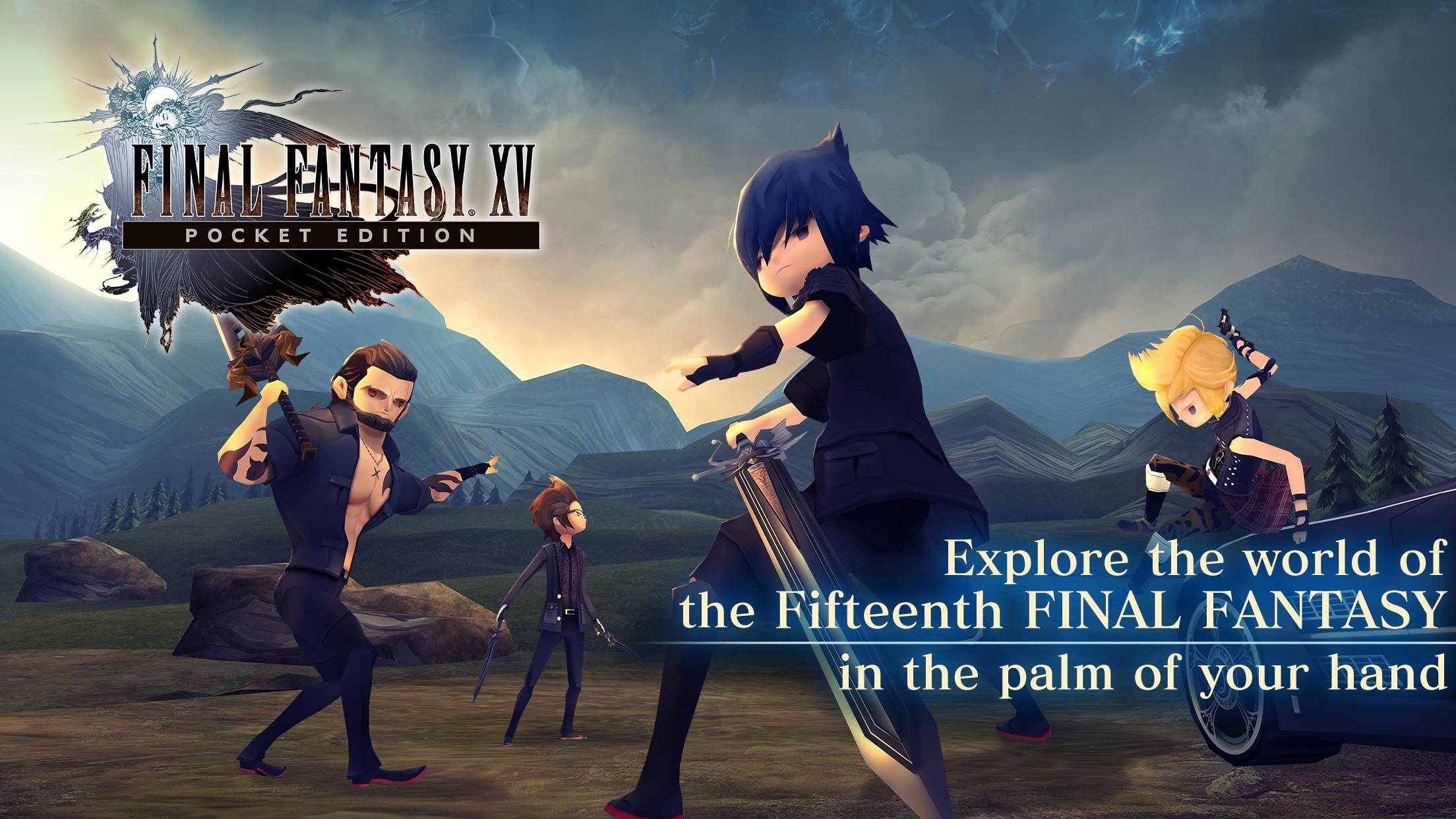 FINAL FANTASY XV POCKET EDITION 1.0.6.631 Screenshot 1
