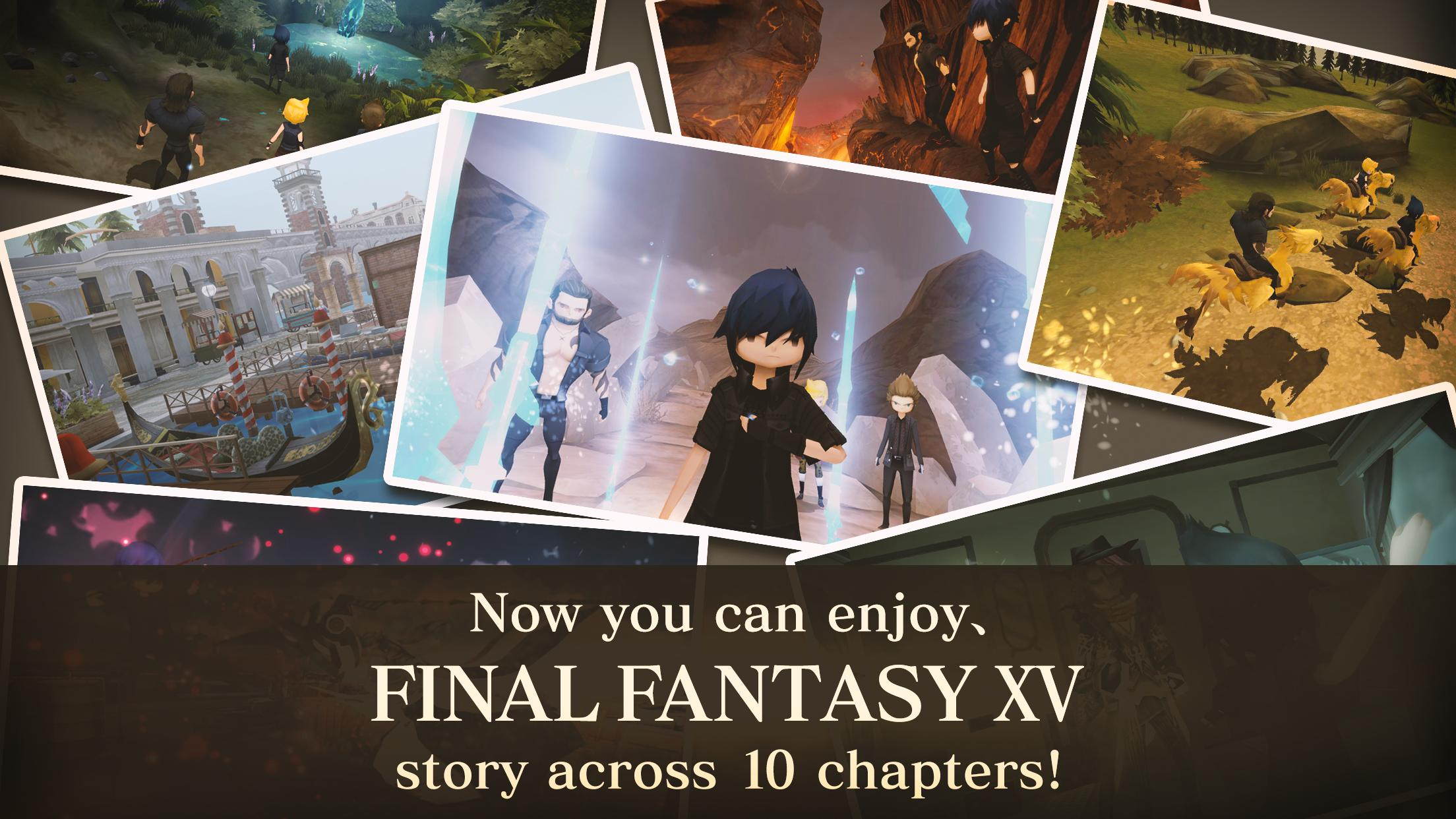 FINAL FANTASY XV POCKET EDITION 1.0.6.631 Screenshot 2