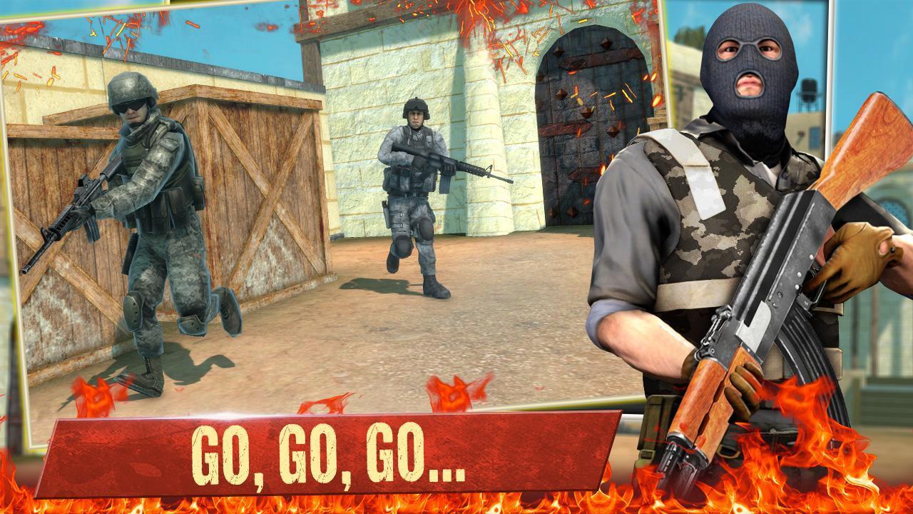 FPS Commando Secret Mission - Free Shooting Games 3.4 Screenshot 1