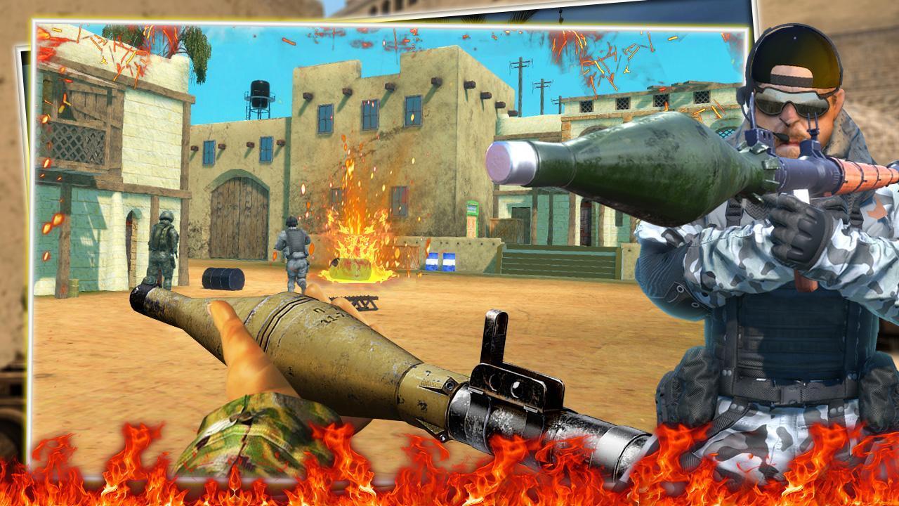 FPS Commando Secret Mission - Free Shooting Games 3.4 Screenshot 2