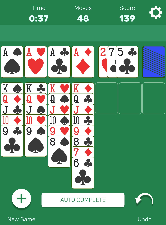 Solitaire 1.2 Screenshot 6
