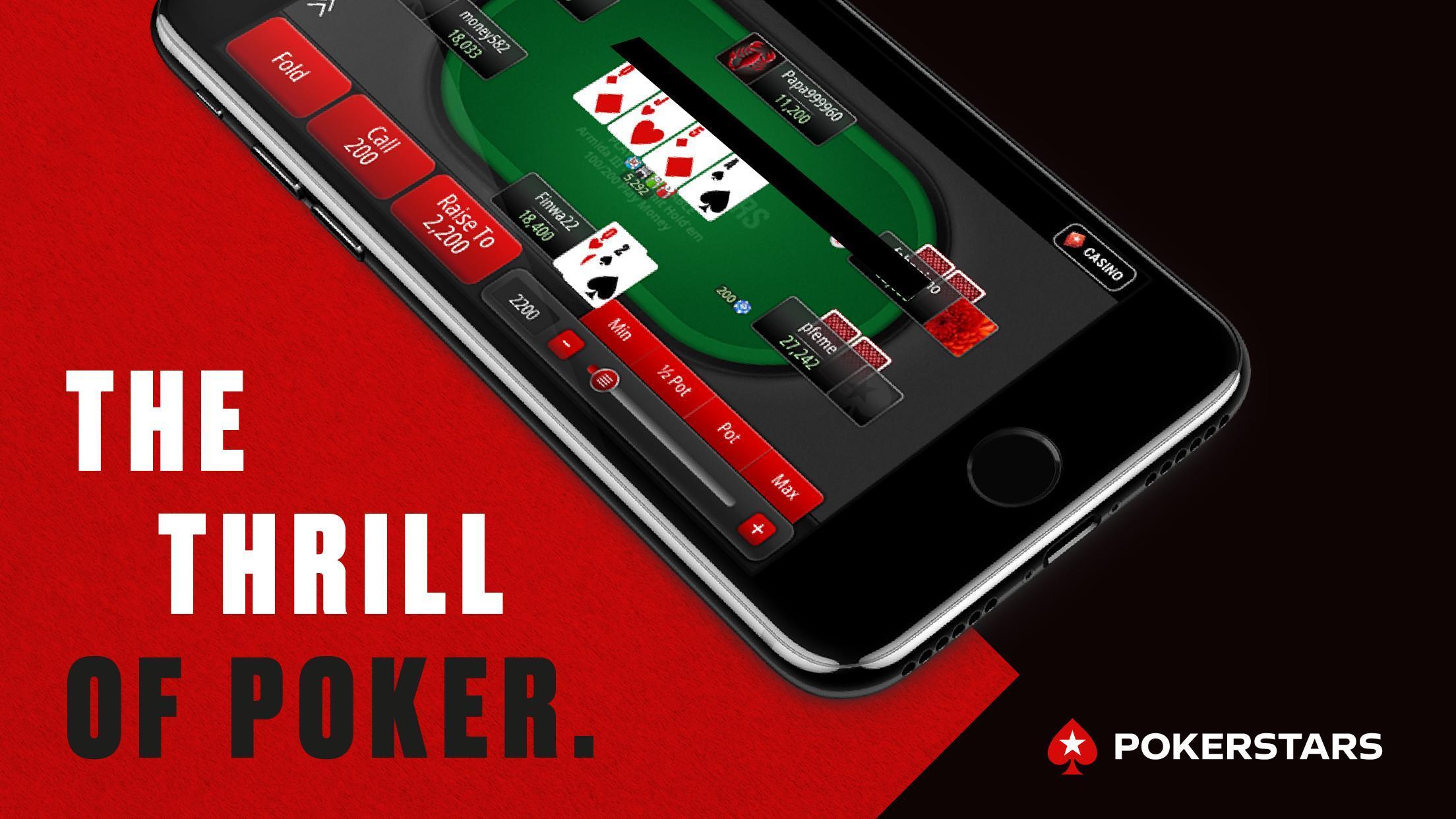 PokerStars: Free Poker Games with Texas Holdem 1.125.0 Screenshot 1