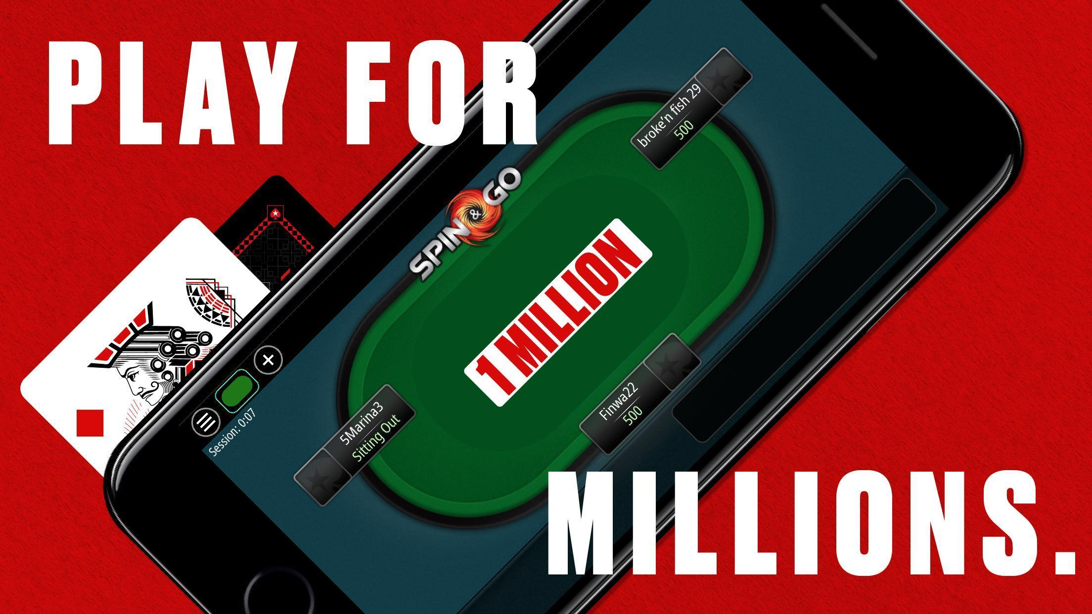 PokerStars: Free Poker Games with Texas Holdem 1.125.0 Screenshot 3