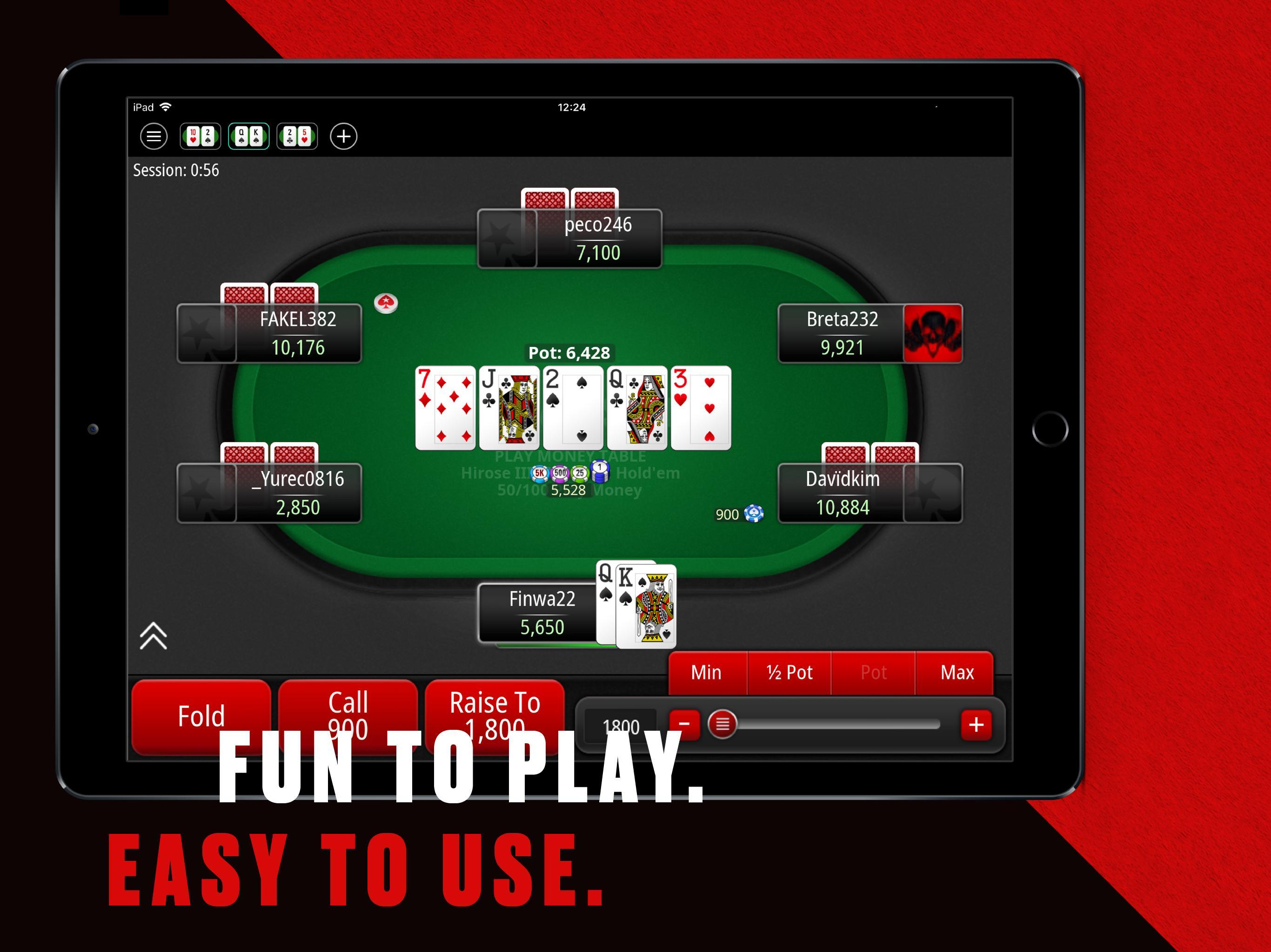 PokerStars: Free Poker Games with Texas Holdem 1.125.0 Screenshot 8